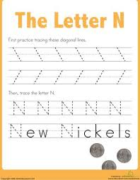 20 best letter n images on pinterest home preschool letter n