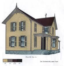 sherwin williams civil war era colors exterior house colors