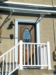 Front Door Awnings Wood Front Door Awning Ideas Pictures Kids Canopies Over Build Canopy