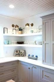 Open Shelf Kitchen Cabinet Ideas Open Shelf Corner Cabinet Corner Cabinet Shelve Small Oak Corner