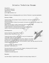 Electronics Technician Resume Samples by Resume Samples Aircraft Maintenance Engineer Cv Writing Services