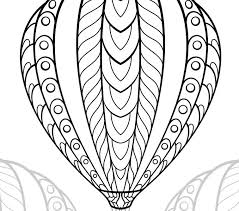 balloon coloring pages air balloon coloring pages best coloring pages