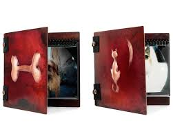 dog photo albums handmade copper pet photo albums gift ideas