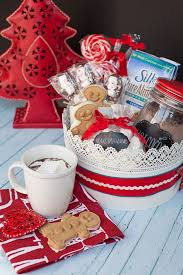 non food gift baskets delicious gift giving non dairy hot chocolate gift basket for the