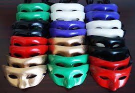 venetian masks bulk venetian paper mache mask set