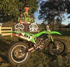 junior motocross racing 2017 australian junior track championships success dirt track