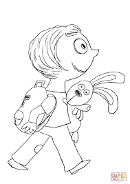 knuffle bunny coloring page trixie from knuffle bunny coloring
