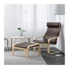 Ikea Chair Ottoman Poäng Ottoman Glose Black Ikea