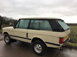 first range rover 1980 land rover range rover 3 door being auctioned at barons auctions