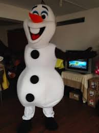 olaf costume disney frozen snowman olaf mascot costume high quality olaf mascot