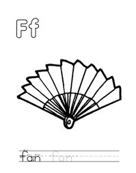 f for fan alphabet coloring pages free alphabet coloring pages