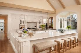 kitchen fancy modern kitchen island with seating bench at