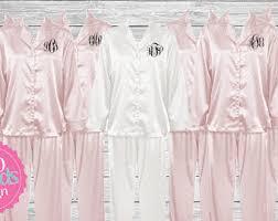 bridesmaid pajamas etsy