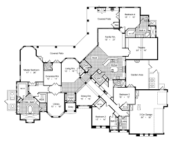 villa house plans villa savoia 6429 4 bedrooms and 4 baths the house designers