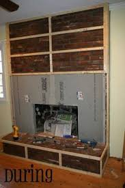 How To Cover Brick Fireplace by Fireplace Cover I Would Pad It So We Could Use It As An Extra