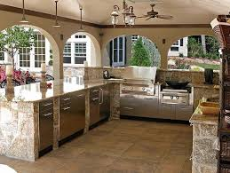 outside kitchen design ideas awesome outdoor kitchen designs and ideas ordinary backyard kitchen