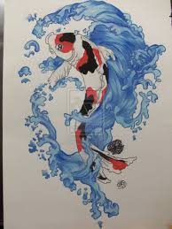 koi tattoo art and designs page 15