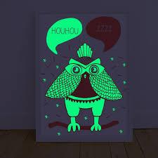 glow in the dark poster loula glow in the dark poster omy design children