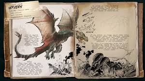 dino dossier wyvern scorched earth ark survival evolved
