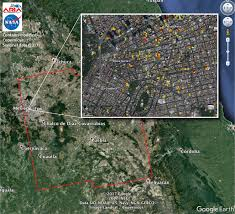 mexico map earthquake damage map shows in mexico