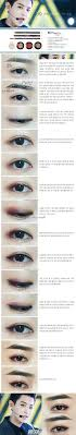 exo chanyeol overdose korean kpop idol makeup tutorial cr coco cho