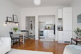 Kitchen Design For Small Apartment by Black And White Decorating Ideas Turning Small Old Apartment Into