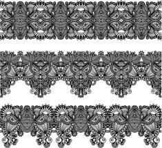 black lace ribbon lace ribbon pattern for illustrator free vector 220 502