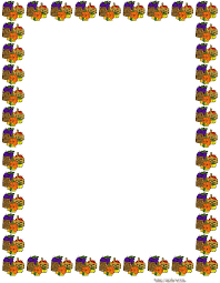 printable thanksgiving clip borders festival collections