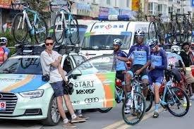 audi cycling team tour of qinghai lake stage 06 07 start cycling team cc