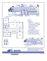 All In The Family House Floor Plan On Your Lot In Lakeland Adams Homes