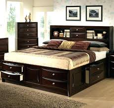 Bedroom Furniture Bookcase Headboard Bedroom Set With Bookcase Headboard Downloadcs Club