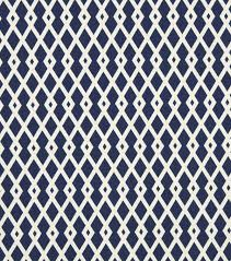 upholstery fabric robert allen graphic fret ultramarine joann