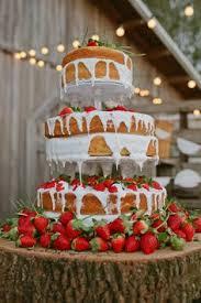 hochzeitstorte erdbeeren hochzeitstorte bilder schlichte torte mit erdbeeren