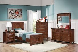 homelegance alyssa youth bedroom set warm brown cherry b2136tc
