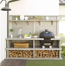 cuisine d été aménagement amenagement cuisine avec palmier terrasse génial 15 idées