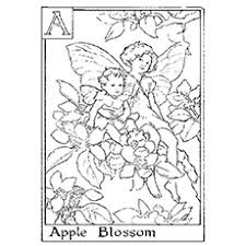 apple tree coloring pages top 25 free printable beautiful fairy coloring pages online