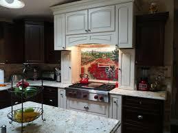 kitchen backsplash contemporary custom ceramic tile