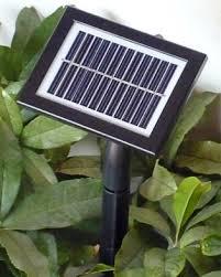 solar batteries for outdoor lights fy 200l sp series 200 led solar string lights solar panels garden