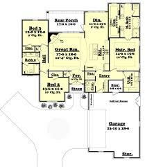 european style house plan 3 beds 2 50 baths 1934 sq ft plan 430 123