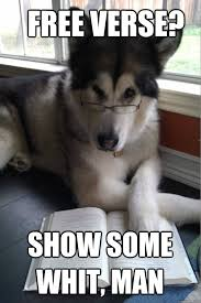 Dog With Glasses Meme - the best of condescending literary pun dog pun dog nerd humor