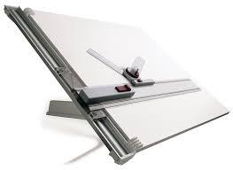 Drafting Drawing Table Rotring Designer Drawing Board Folds Flat 700x600mm