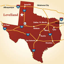 lubbock on map location transportation levelland economic development