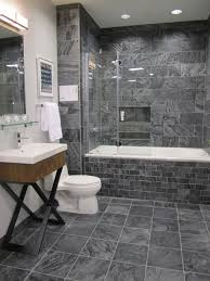 Slate Tile Bathroom Shower Polished Slate Tiles Contemporary Bathroom Sherwin Williams