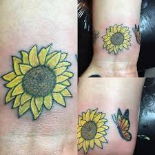 small sunflower design ideas