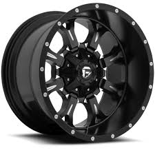 Wide Rims And Tires For Trucks D517 Krank Deep Black U0026 Milled Fuel Off Road Wheels Truck