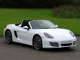 porsche boxster white current inventory tom hartley