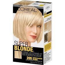 best otc hair bleach l oreal paris super blonde creme lightening kit super bleach