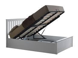 happy beds phoenix ottoman storage bed wooden modern space saving