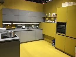 Yellow Kitchen Cabinet Modern Gray Kitchen Cabinets Beat Monotony With Style
