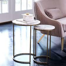 West Elm Bedside Table West Elm Marble Side Table U2013 Thelt Co